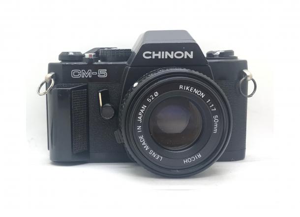 Chinon CM5 + objektiv 50/1.7