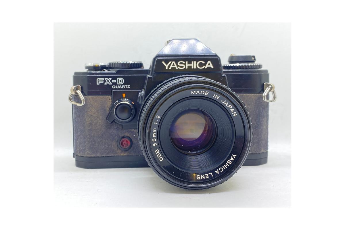Yashica FX-D Quartz + objektiv 55/2