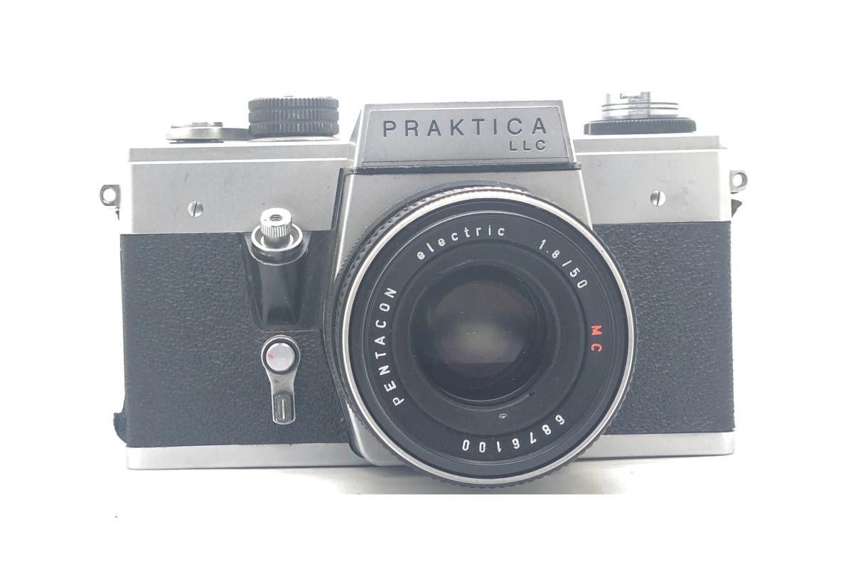 Praktica LLC + Pentacon 50/1.8