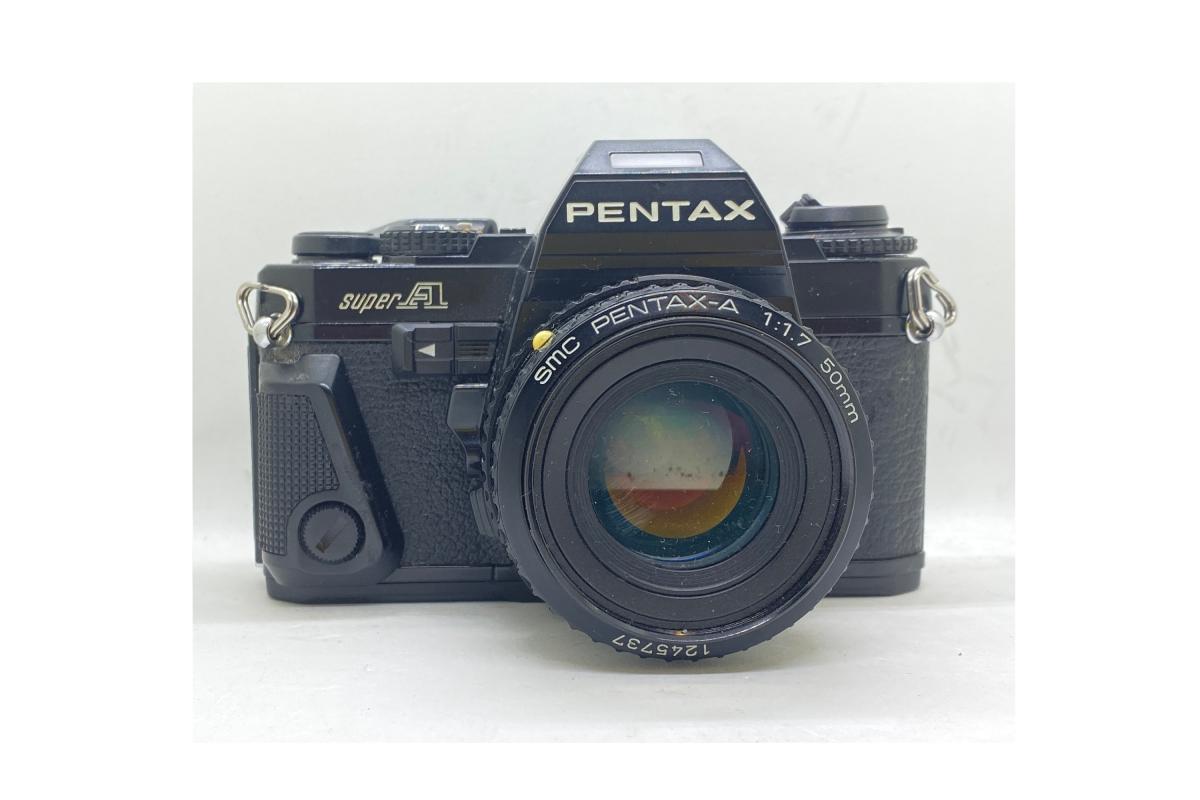Pentax Super A + objektiv 50/1.7