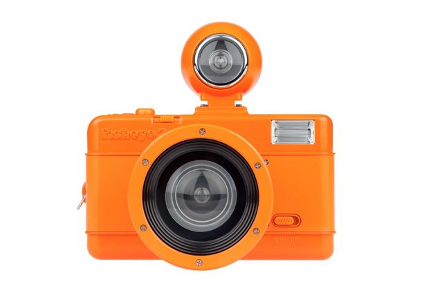 Fisheye Vibrant Orange