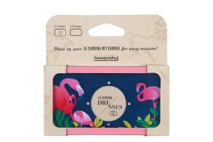 Dress Midnight Flamingo