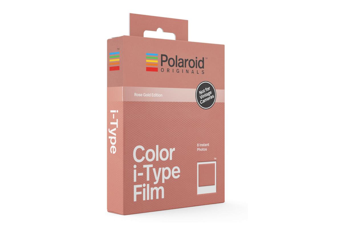 Polaroid I-TYPE Color Film Rose Gold Frame