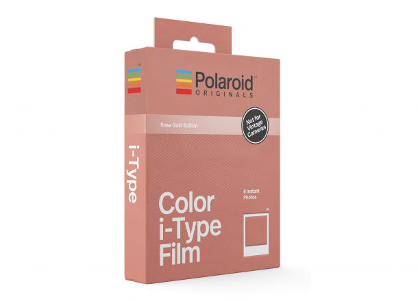 Polaroid I-TYPE Color Film Rose Gold Frame