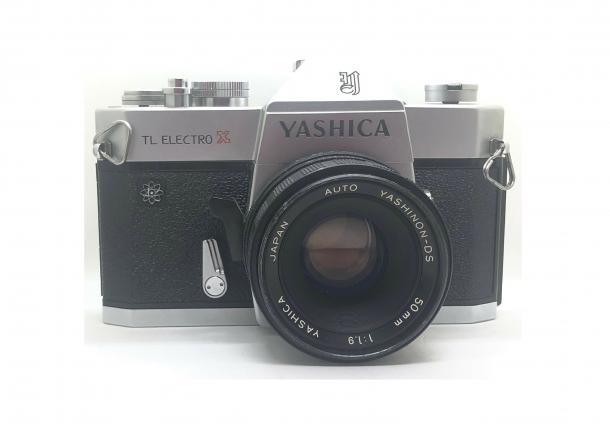 Yashica TL Electro + Yashinon 50/1.9
