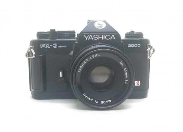 Yashica FX-3 Super + 50/2.0