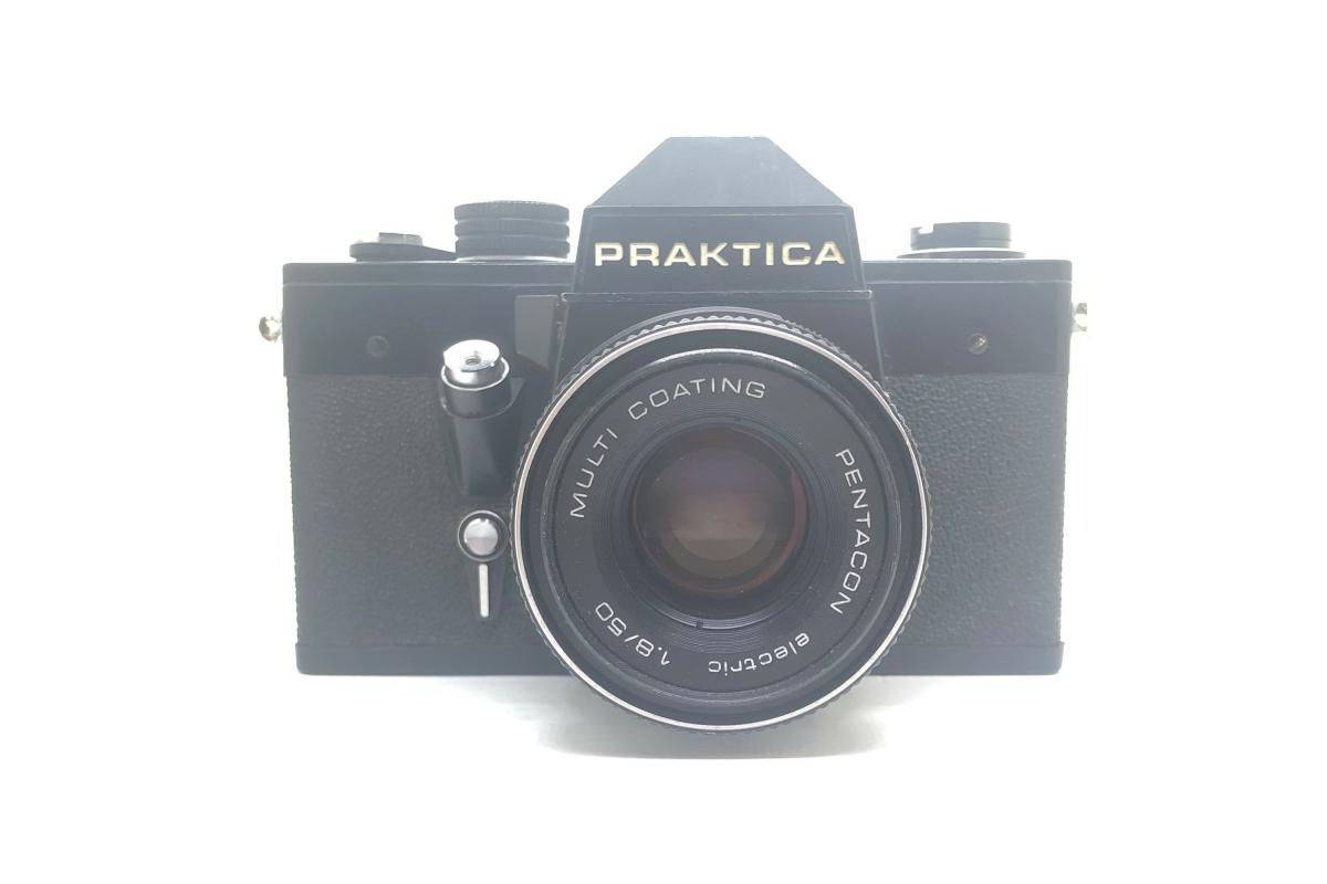 Praktica LTL černá + Pentacon 50/1.8
