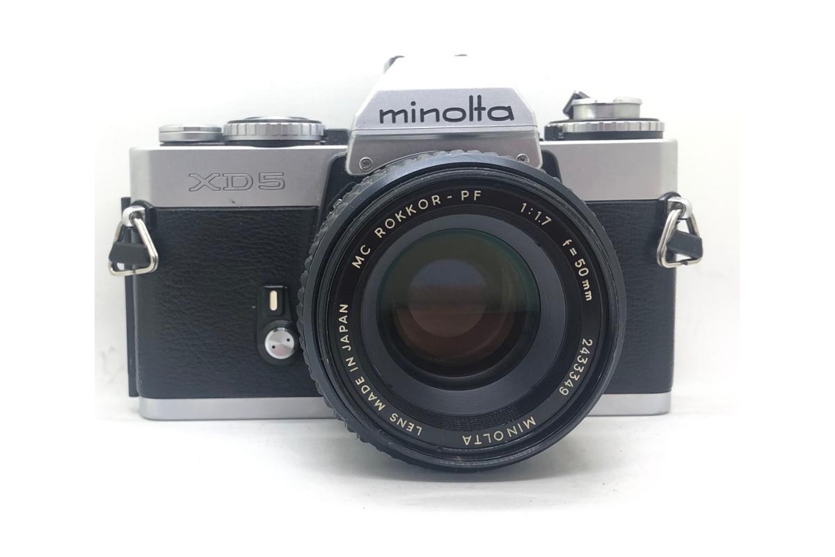 Minolta XD5 + objektiv 50/1.7