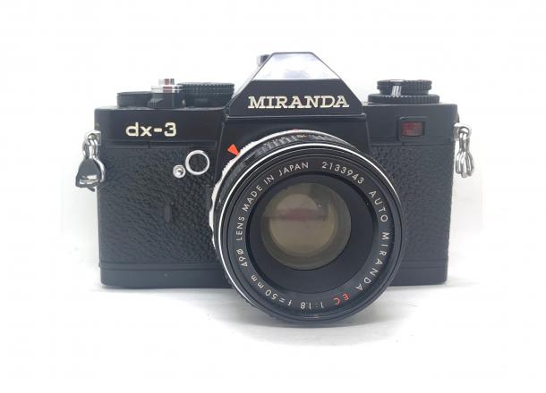 Miranda DX3 + objektiv 50/1.8