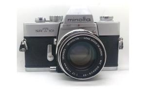 Minolta X700 + objektiv 50/2