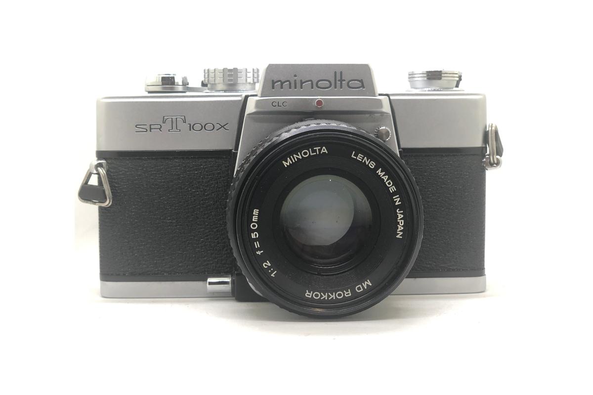 Minolta SRT 100x + objektiv 50/2