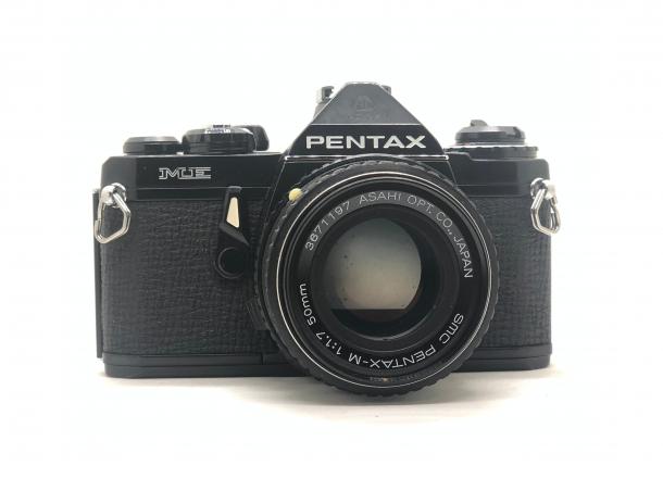 Pentax ME Black + objektiv 50/1.7
