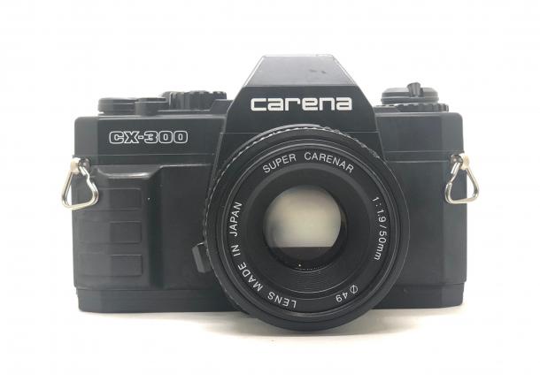 Carena CX300 + objektiv 50/1.9