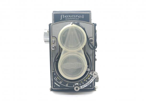Flexaret Automat + adaptér 35mm
