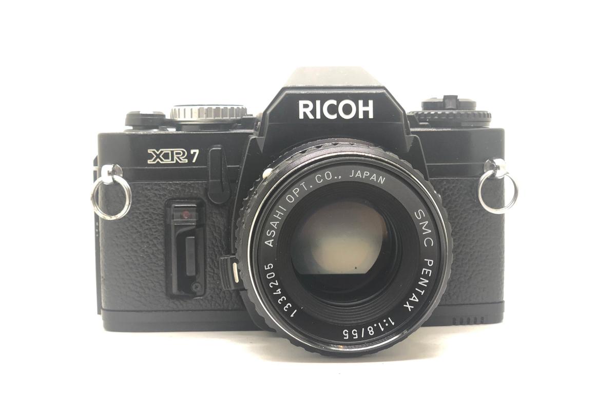 Ricoh XR7 + objektiv 55/1.8
