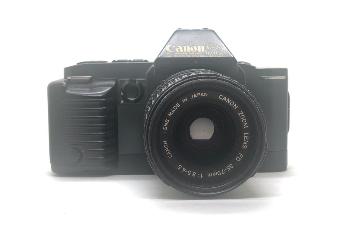 Canon T70 + objektiv 35-70