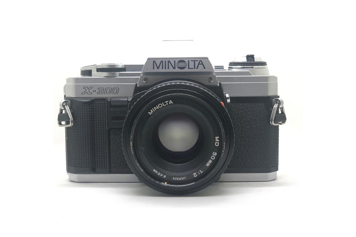 Minolta X300 + objektiv 50/2