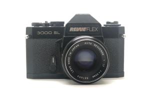 Revueflex 3000SL + objektiv 55/1.7