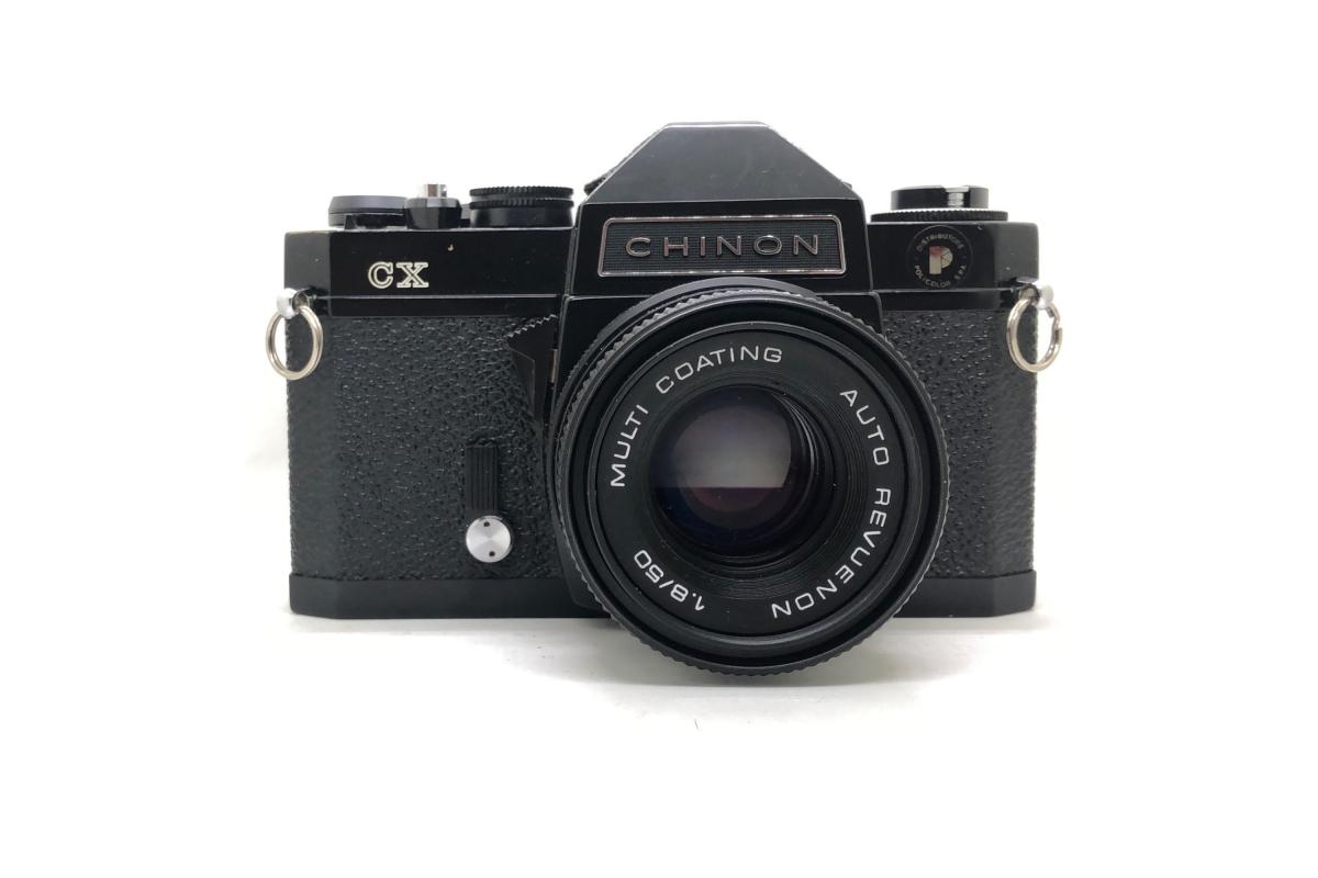 Chinon CX + objektiv 50/1.8