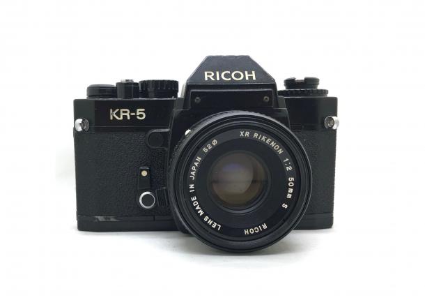 Ricoh KR 5 + objektiv 50/2.2
