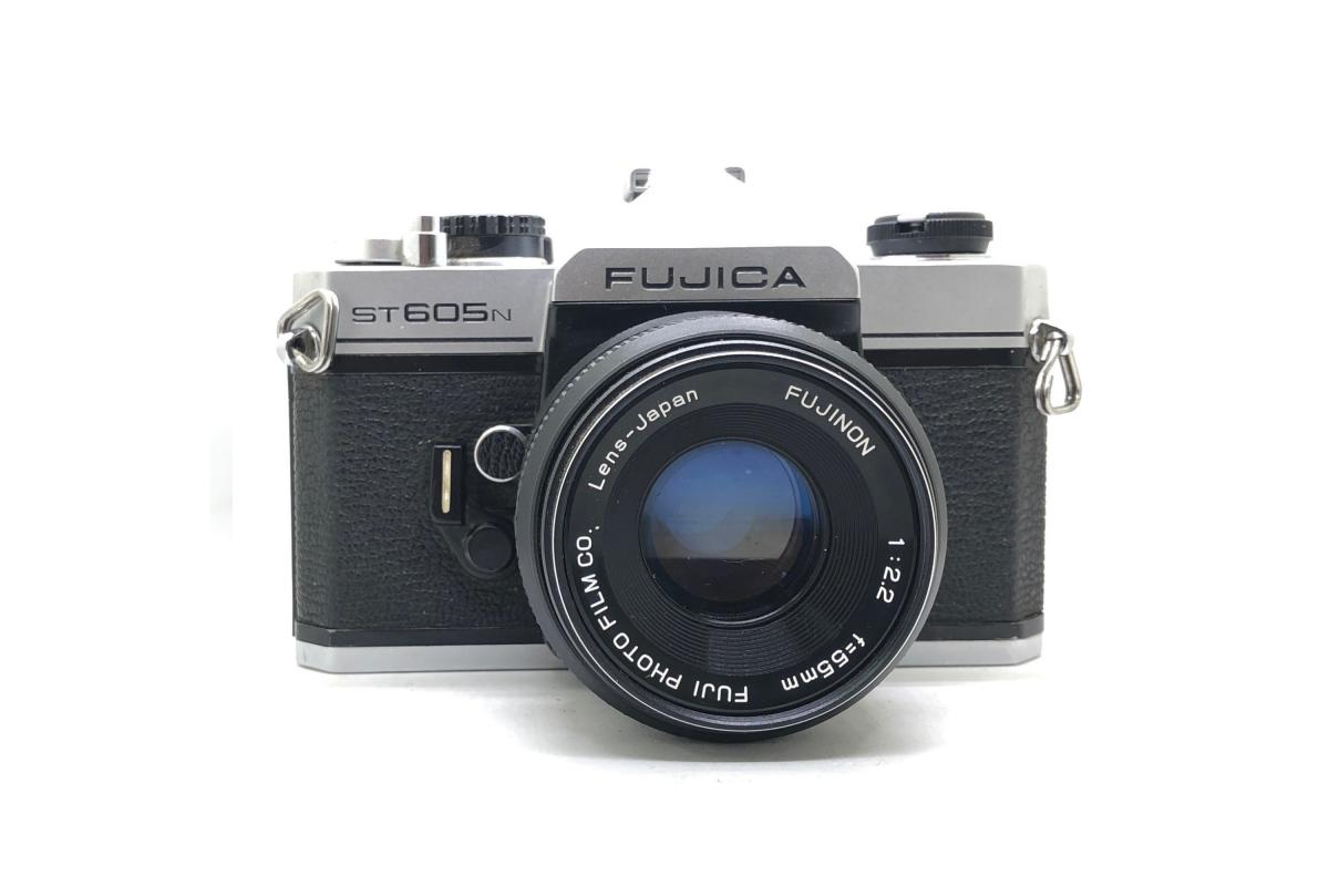Fujica ST 605N + objektiv 55/2.2