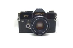 Canon FT Black + objektiv 50/1.8
