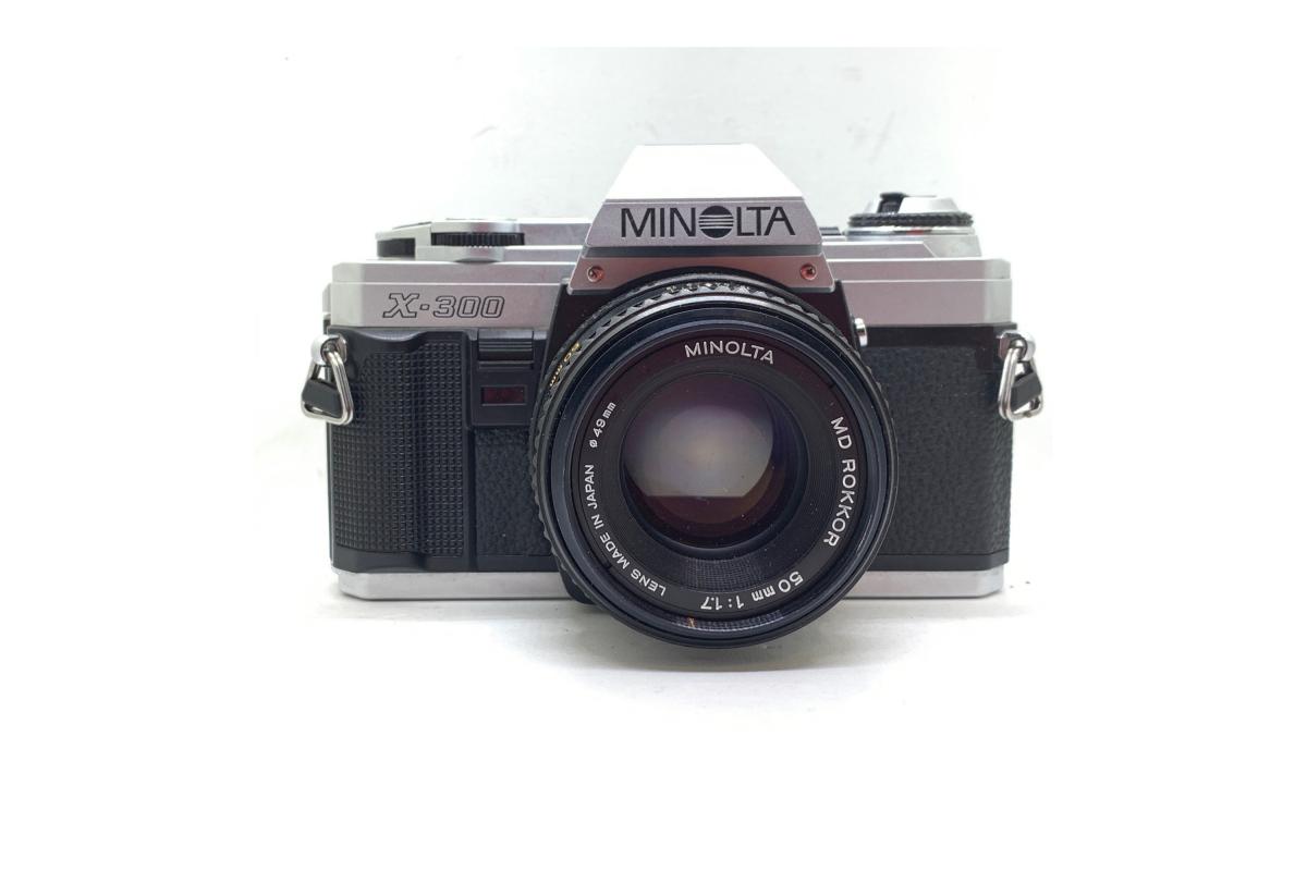 Minolta X300 + objektiv 50/1.7