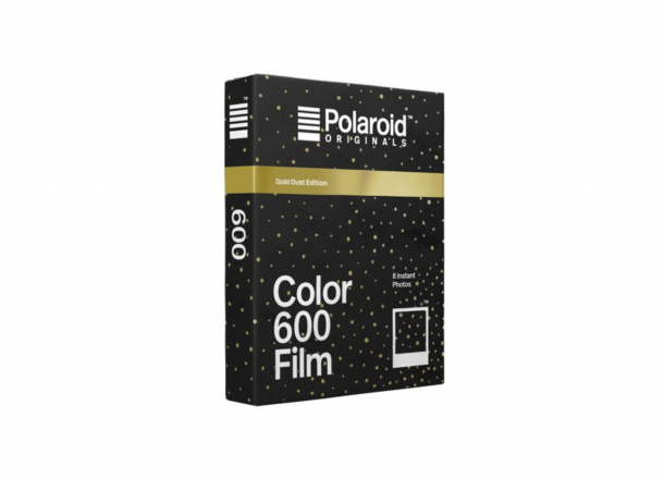 Polaroid Color 600 Film Gold Dust