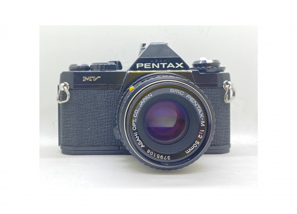 Pentax MV + objektiv 50/2