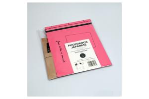 Photobook Japanese růžovo-černý