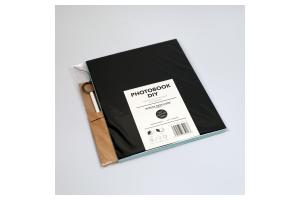 Photobook DIY černo-modrý