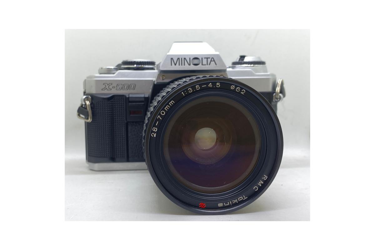 Minolta X500 + Tokina 28-70/3.5-4.5
