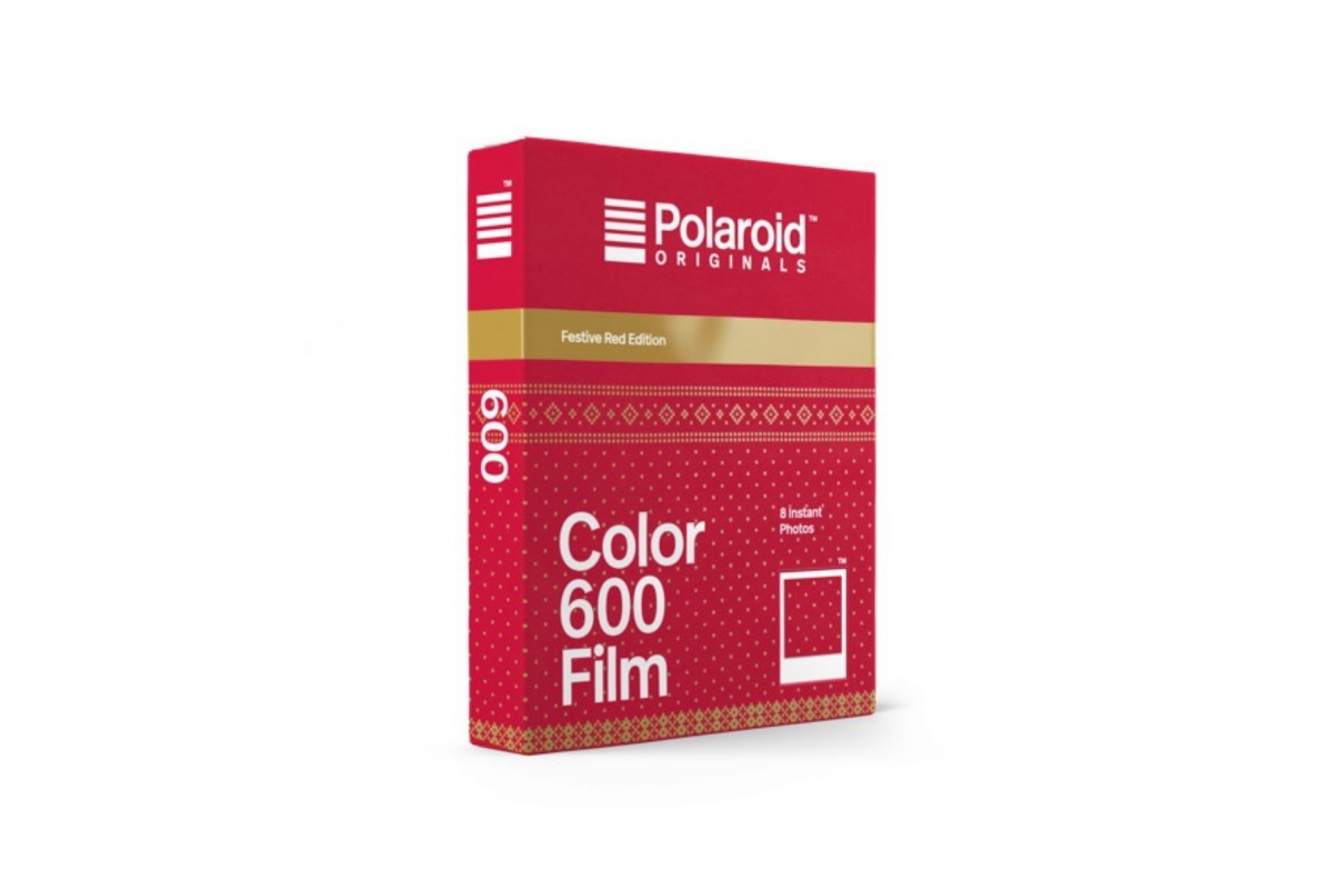 Polaroid Color 600 Film Festive Red