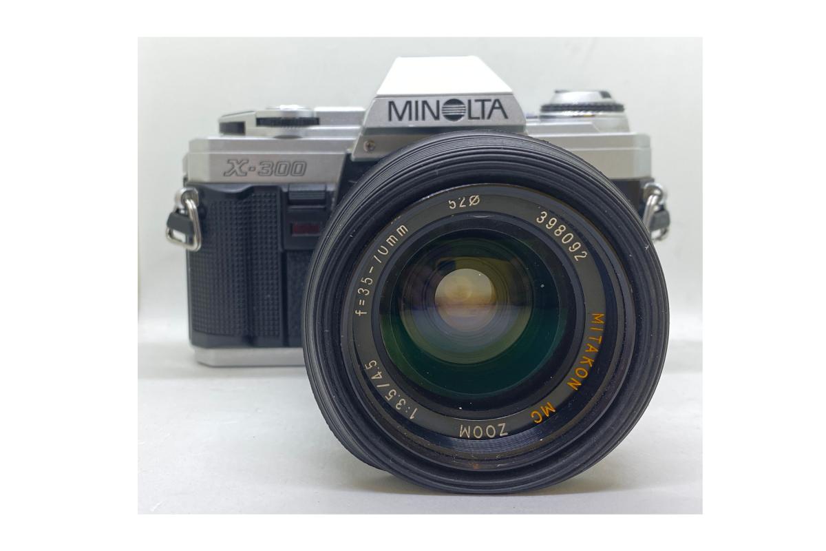 Minolta X300 + objektiv 35-70/3.5-4.5