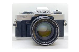 Minolta XG1 + objektiv 50/1.7