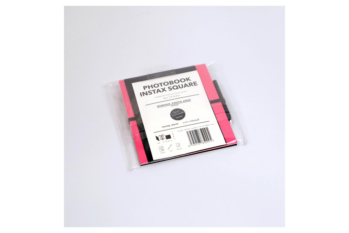 Album Instax Square Pink-Black
