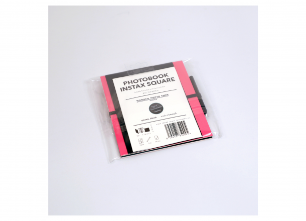 Album Instax Square Pink-Black